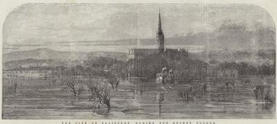 The City of Salisbury During the Recent Floods by Samuel Read