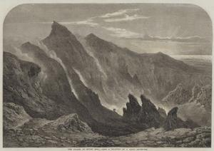 The Crater of Mount Etna by Samuel Read