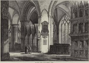 The Dean's Chapel in the Cathedral, Oxford by Samuel Read