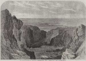 The Granite Quarry at Peterhead, Aberdeenshire by Samuel Read