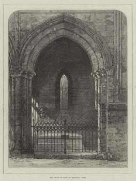 The Grave of Scott in Dryburgh Abbey by Samuel Read
