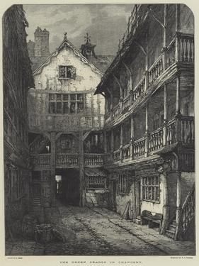 The Green Dragon in Chancery by Samuel Read