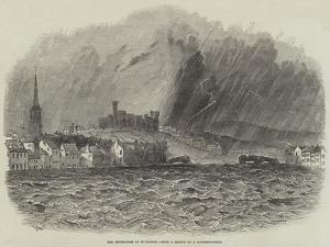 The Inundation at Inverness by Samuel Read