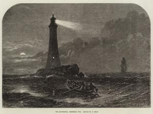 The Lighthouse, Christmas Eve by Samuel Read