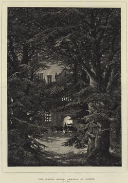 The Manor House, Arrival of Guests by Samuel Read
