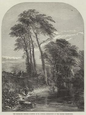 The Moorland Stream, Exhibition of the British Institution by Samuel Read