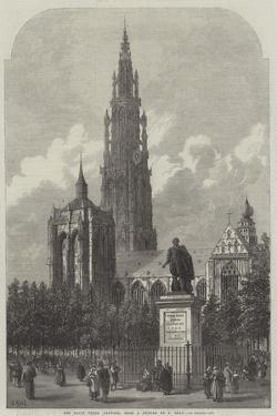 The Place Verte, Antwerp by Samuel Read