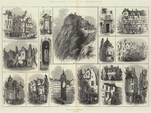 The Royal Visit to Edinburgh by Samuel Read