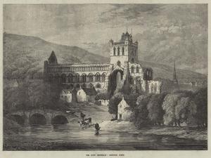The Scott Centenary, Jedburgh Abbey by Samuel Read