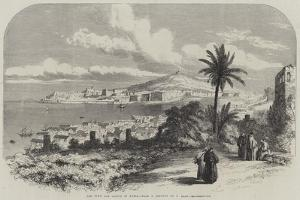 The Town and Castle of Gaeta by Samuel Read