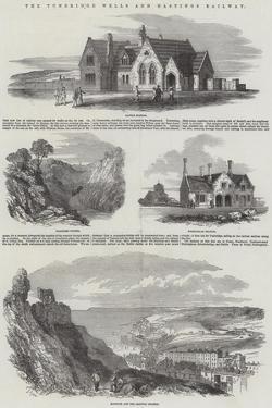 The Tunbridge Wells and Hastings Railway by Samuel Read