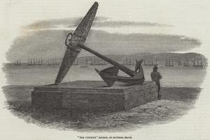 The Victory'S Anchor, on Southsea Beach by Samuel Read