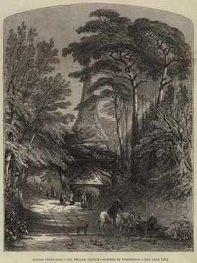 The Village Church by Samuel Read