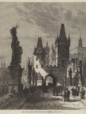 The War, Prague, the Chief City of Bohemia by Samuel Read