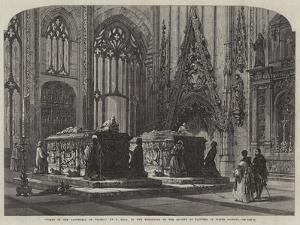 Tombs in the Cathedral of Toledo by Samuel Read