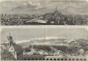 Views of Milan and Genoa by Samuel Read
