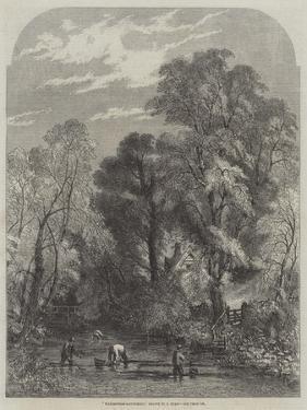Watercress-Gathering by Samuel Read