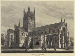 Worcester Cathedral by Samuel Read