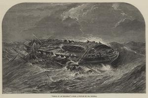 Wreck of an Indiaman by Samuel Read