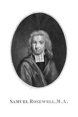 Samuel Rosewell by C van den Berghe
