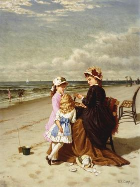 At the Seashore by Samuel S. Carr