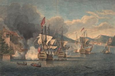 Capture of Porto Bello by Admiral Edward Vernon on 22 November 1739