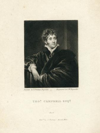 Thomas Campbell, 1818