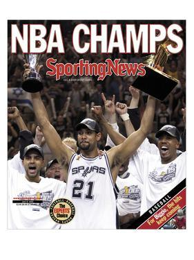 San Antonio Spurs - 2005 NBA Champs - July 8, 2005