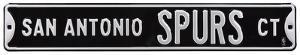 San Antonio Spurs Ct Steel Sign