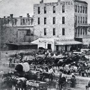 San Antonio, Texas, USA, 1876