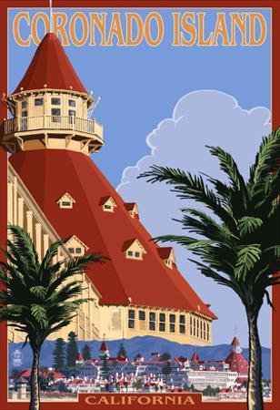 San Diego, California - Hotel Del Coronado