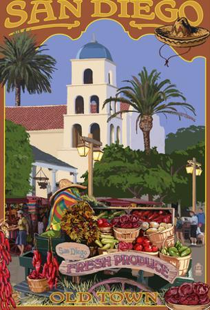 San Diego, California - Old Town