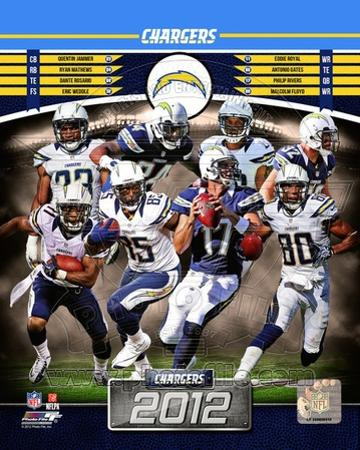 San Diego Chargers 2012 Team Composite