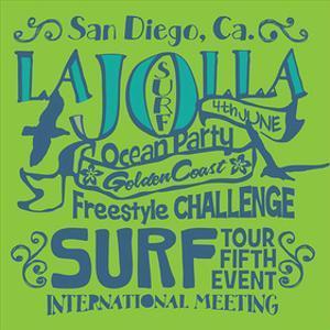 San Diego La Jolla Surfing