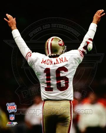 San Francisco 49ers - Joe Montana Photo