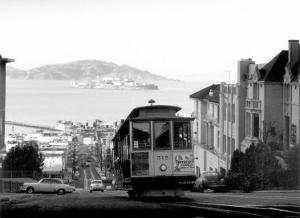 San Francisco, Cable Car, Alcatraz
