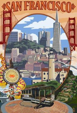 San Francisco, California Scenes