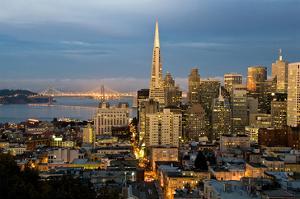 San Francisco-City Sunset