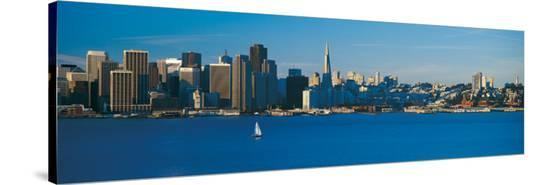 San Francisco from Treasure Island--Stretched Canvas Print