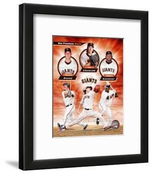 San Francisco Giants 2011 Triple Play Composite
