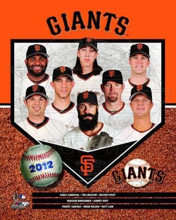 San Francisco Giants 2012 Team Composite