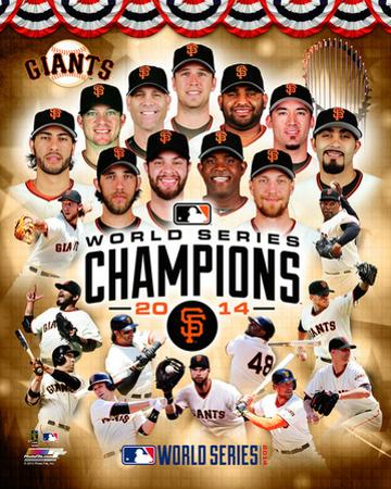 San Francisco Giants 2014 World Series Champions Composite