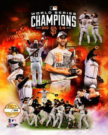 San Francisco Giants 2014 World Series Champions PF Gold Limited Edition