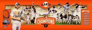 "San Francisco Giants 2014 World Series Champions Photoramic - 12"" x 36"""