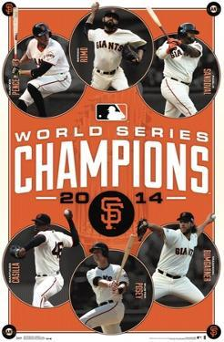 San Francisco Giants - 2014 World Series Champions