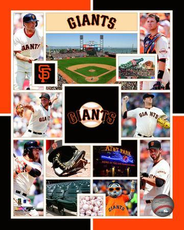 San Francisco Giants 2015 Team Composite