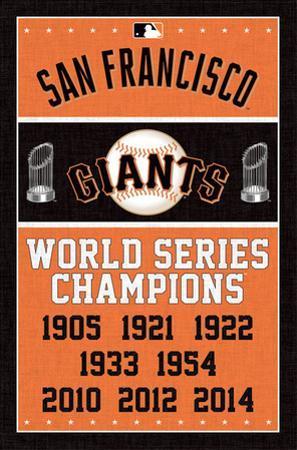 San Francisco Giants - Champions
