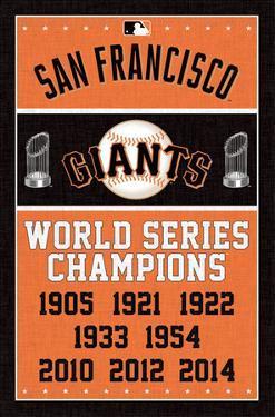San Francisco Giants - Championships