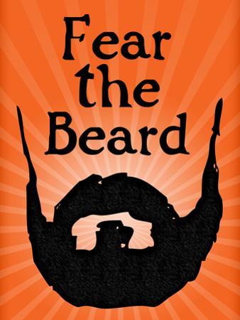 San Francisco Giants Fear The Beard Sports Poster Print