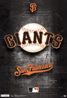 San Francisco Giants Logo Sports Poster